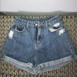 CARMAR High Waisted Jean shorts size 26